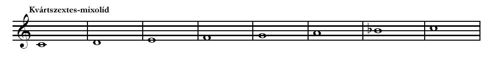 Mixolíd hangsor
