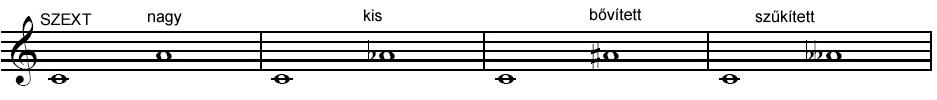 Szext hangköz